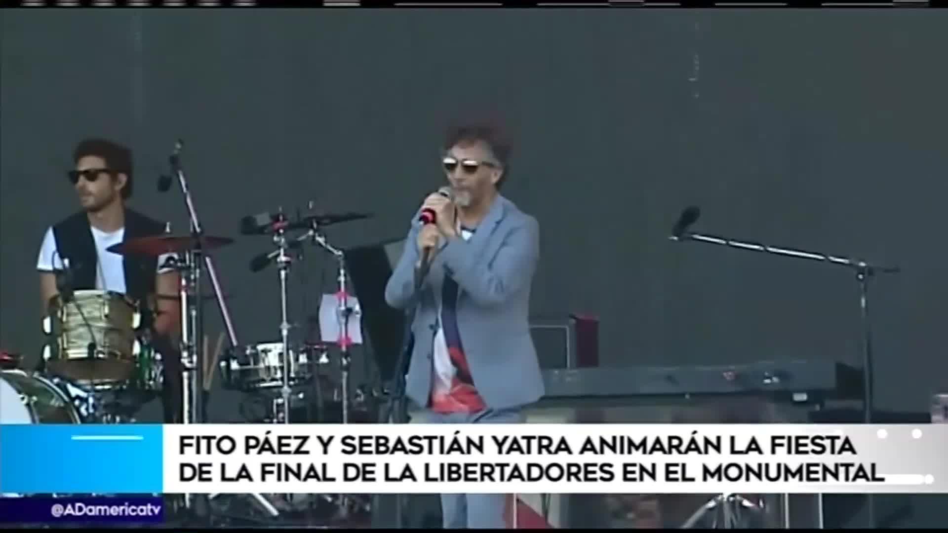 Estos son los artistas confirmados que cantarán en la previa de la final de la Copa Libertadores 2019