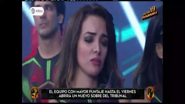 EEG: Rosángela Espinoza se quebró en llanto tras burla de Said Palao sobre su coeficiente intelectual