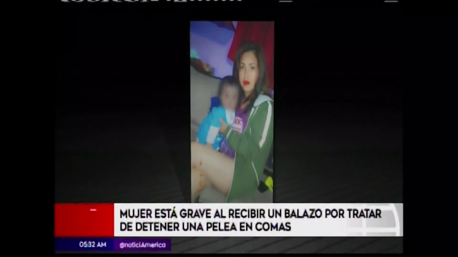 Mujer recibió un disparo al tratar de defender a su familia en Comas