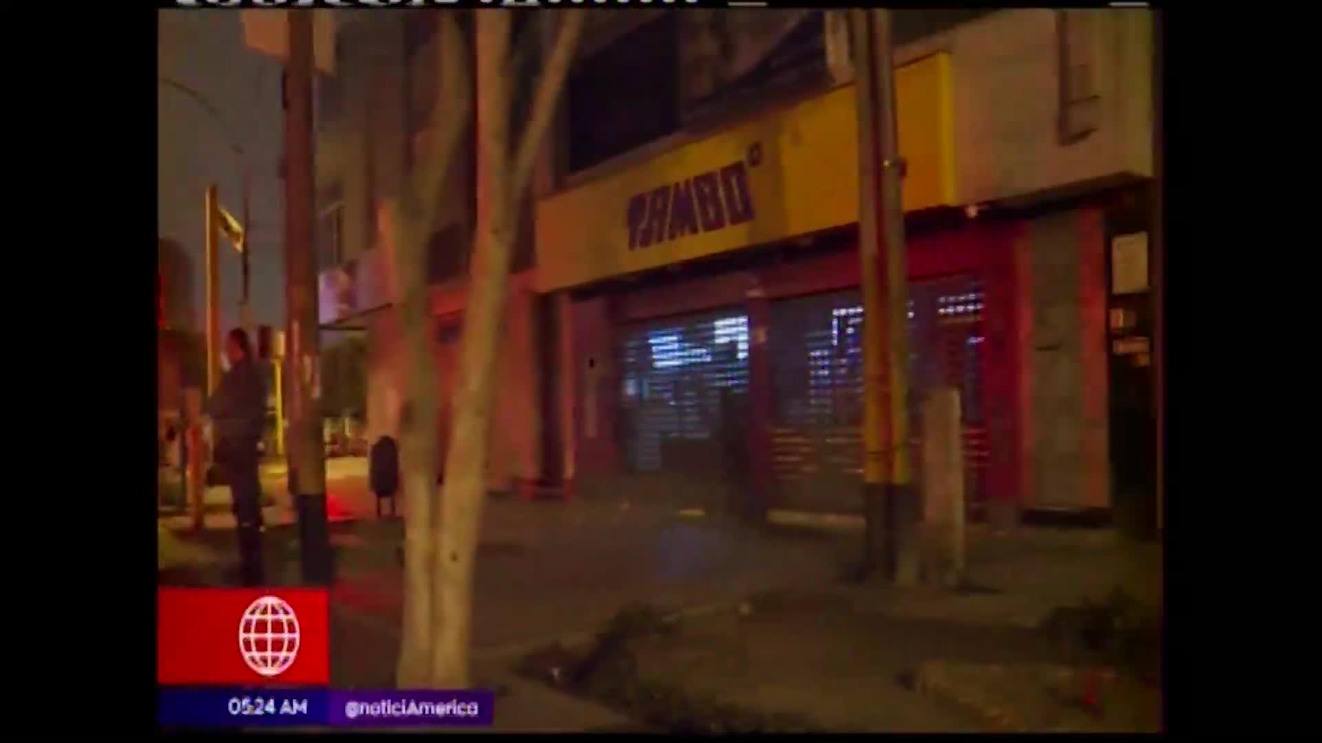 Delincuentes asaltan conocido minimarket en Breña
