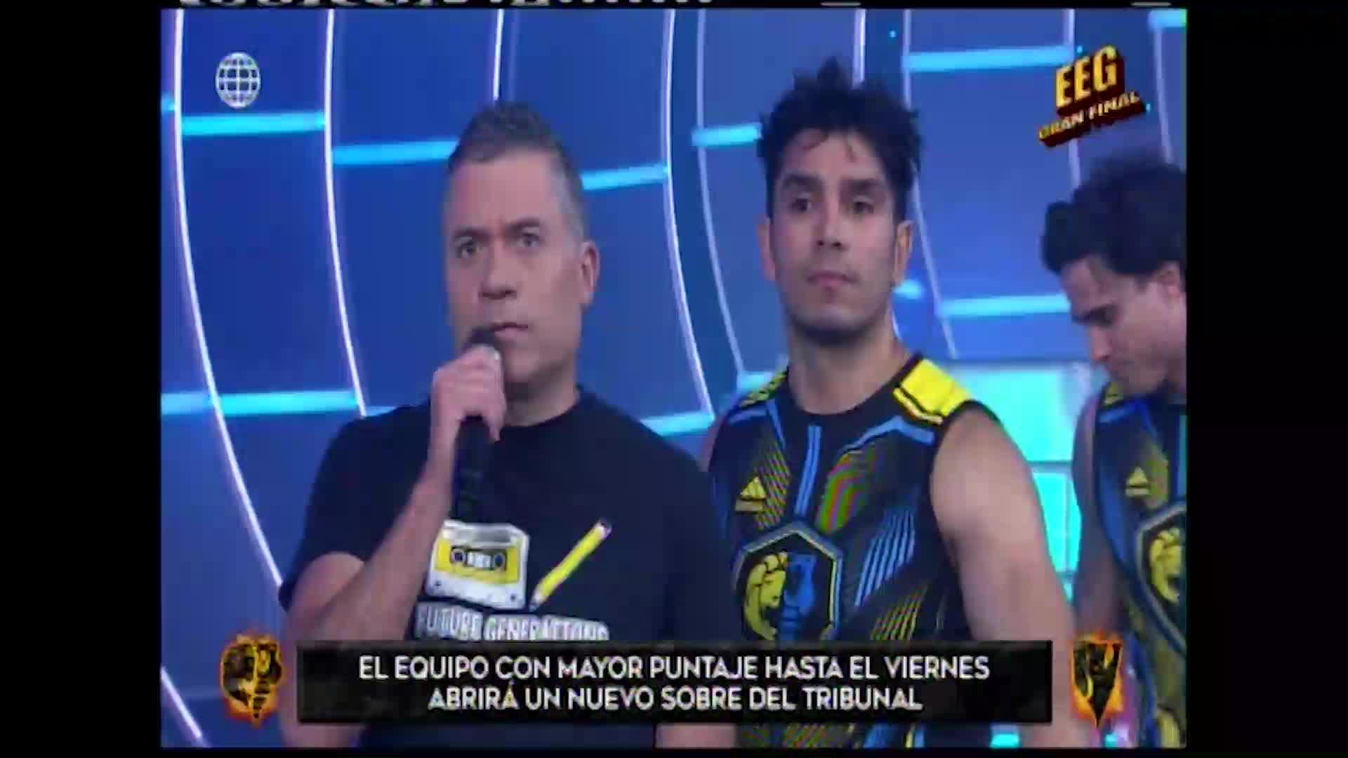 """EEG: Rafael Cardozo fue suspendido por cometer falta contra los """"combatientes"""""""
