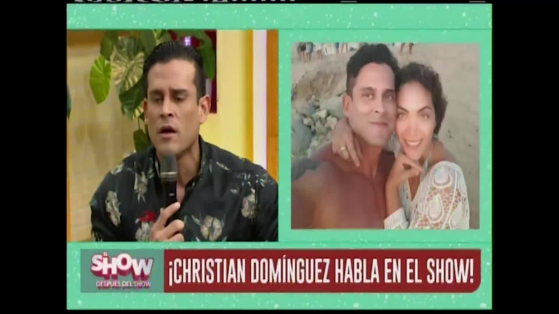 Christian Domínguez hizo aclaración sobre las camionetas de Isabel Acevedo