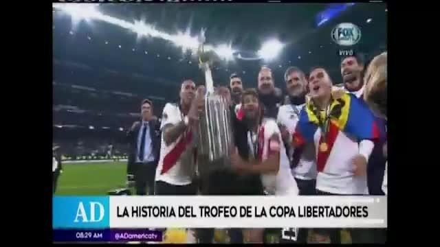 Conoce la historia del trofeo de la Copa Libertadores