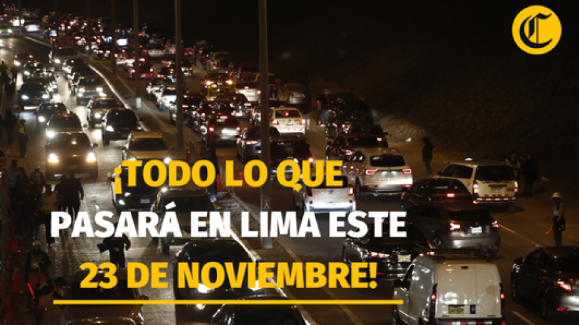 Todo lo que pasará en Lima este 23 de noviembre