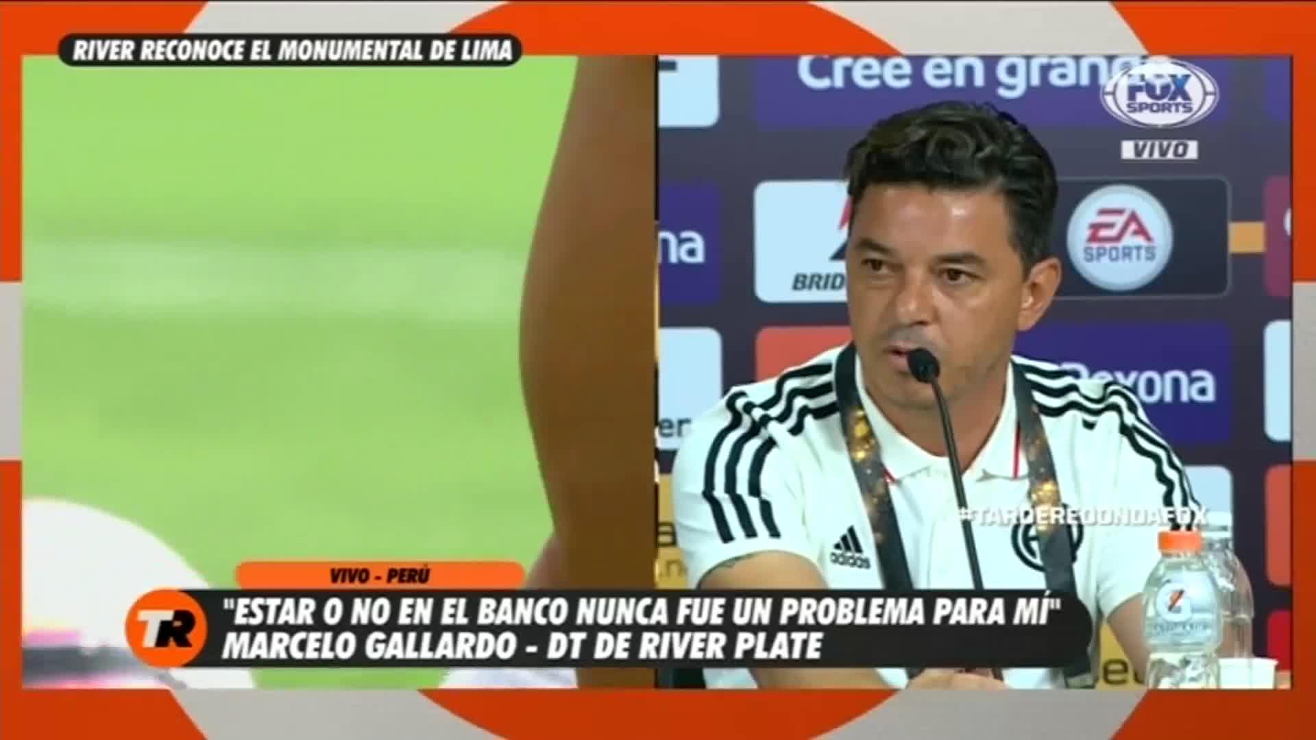"""Marcelo Gallardo: """"Nosotros somos candidatos"""""""