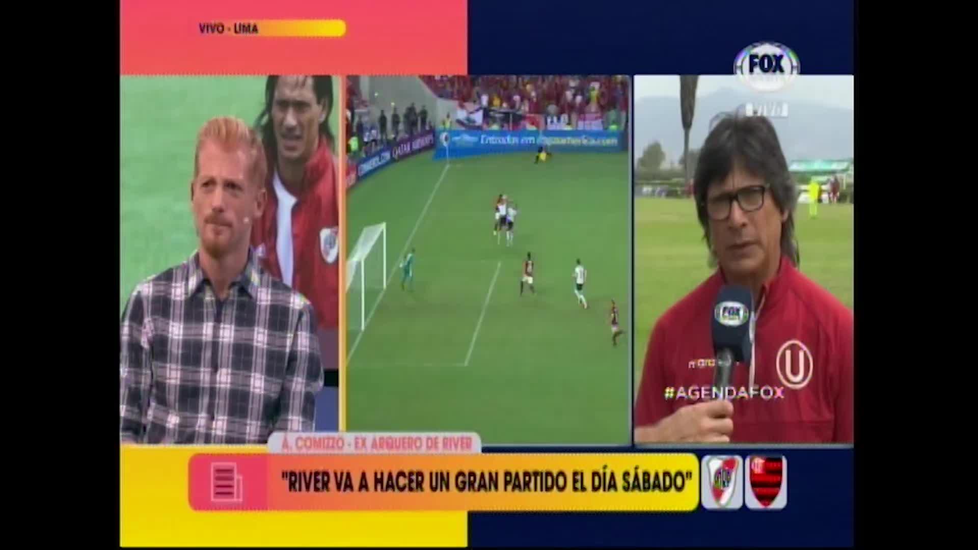 """Angel Comizzo: """"River Plate es lo mejor que me pasó en mi carrera"""""""