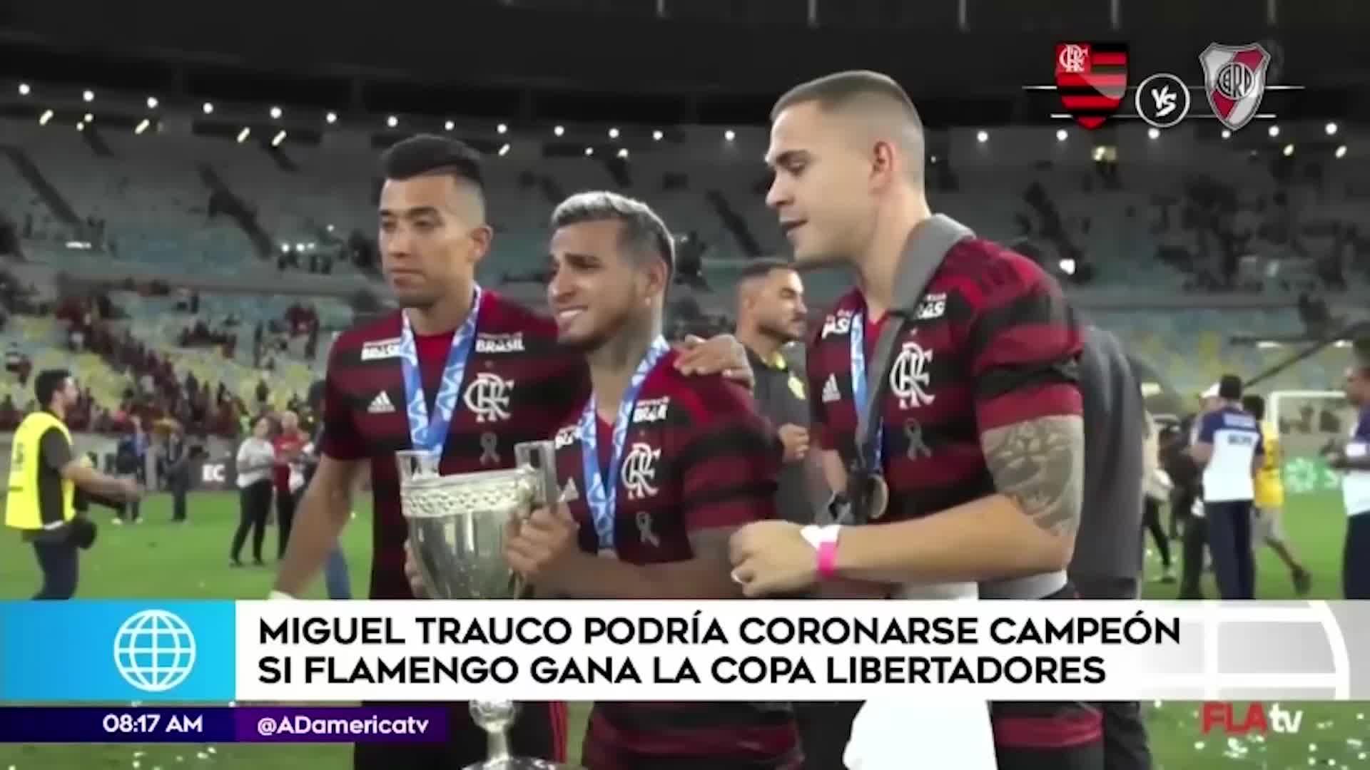 Copa Libertadores: Miguel Trauco podría coronarse campeón si Flamengo vence a River Plate