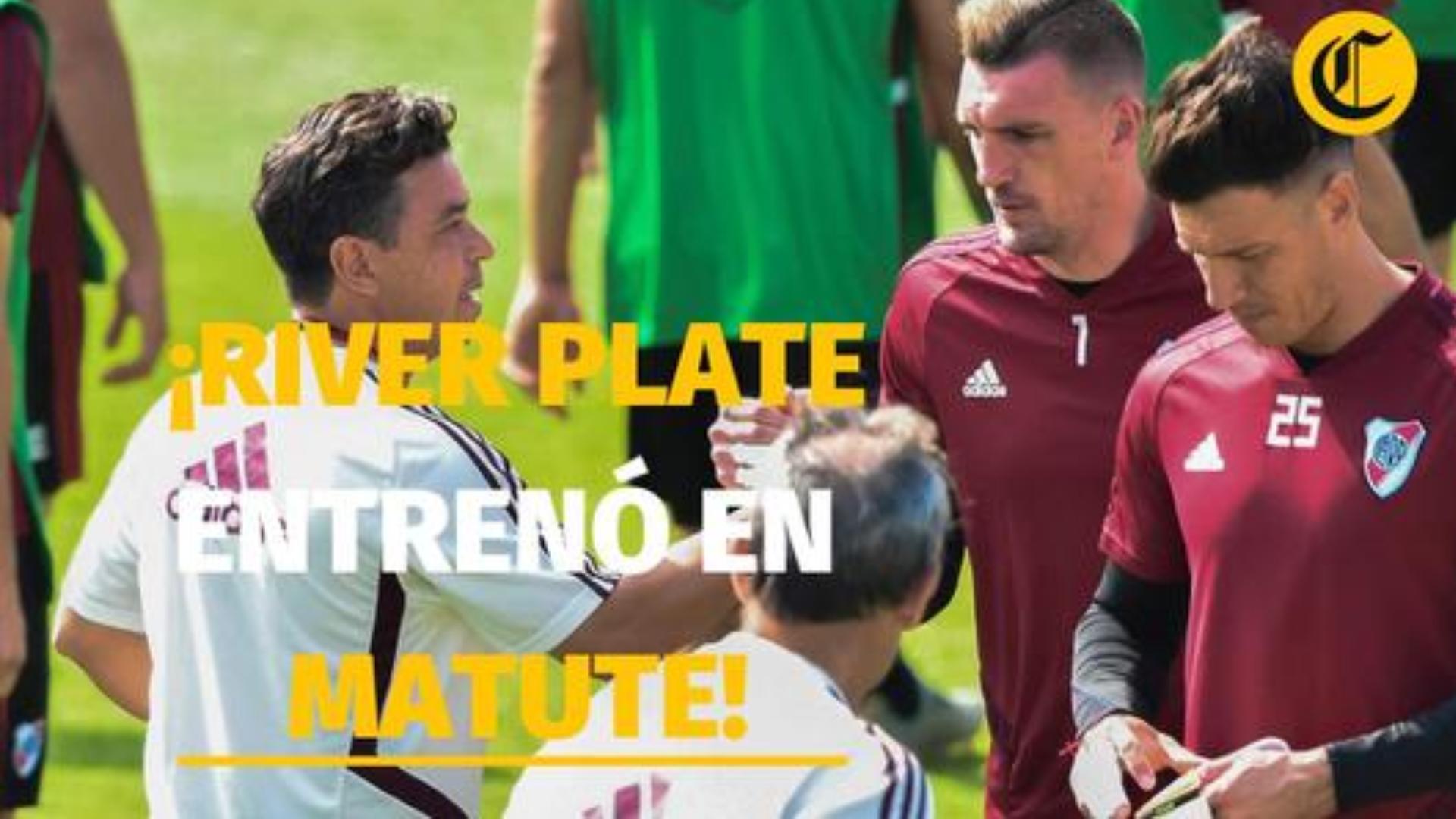 Copa Libertadores: así fue el primer entrenamiento de River Plate en Matute