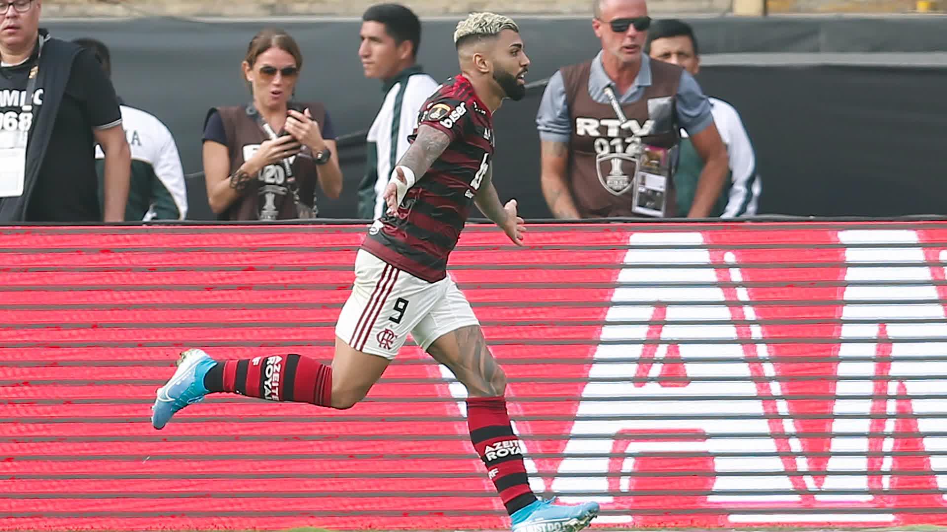 Gabriel Barbosa anotó doblete para ganar la Copa Libertadores 2019