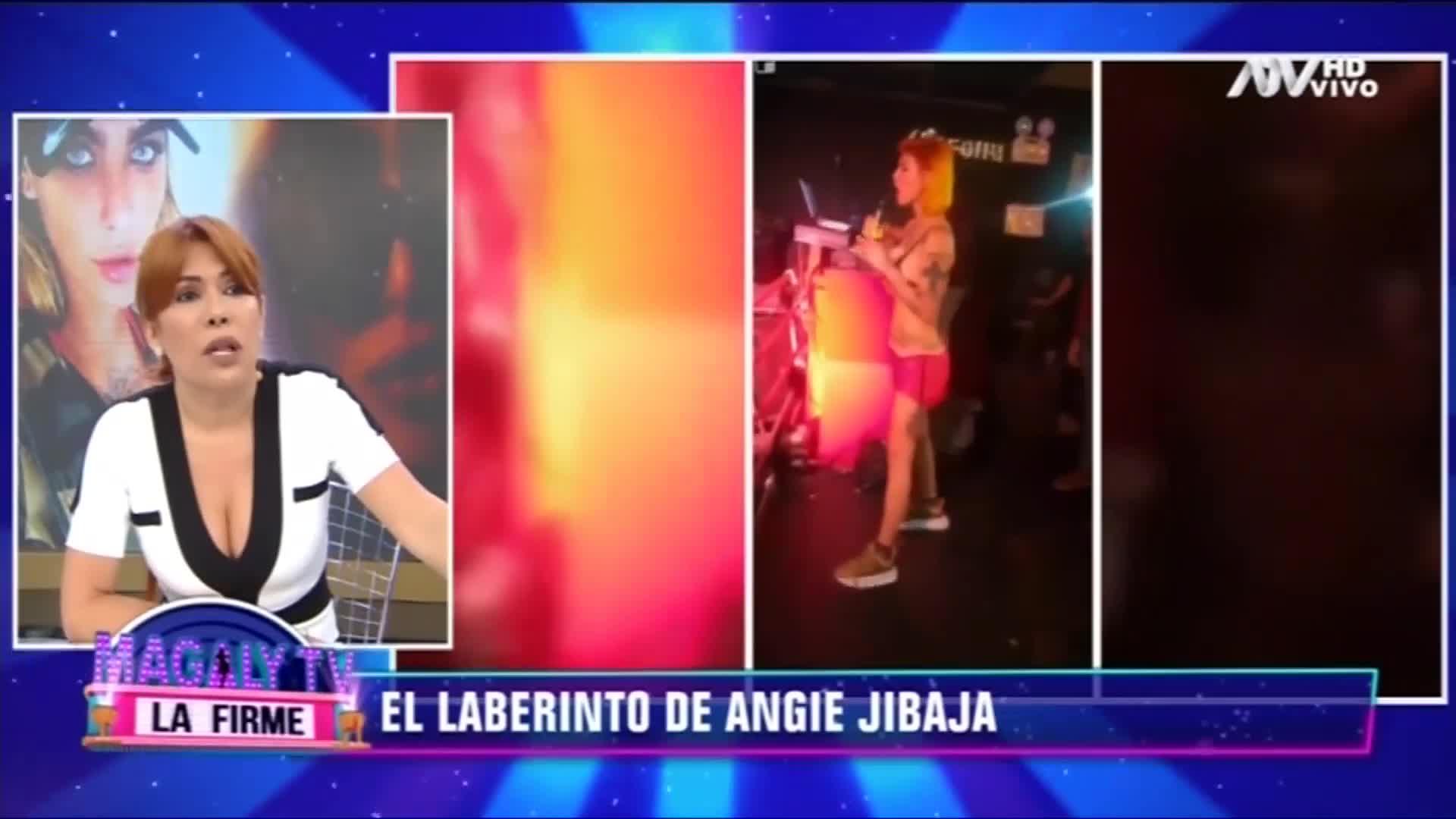 Angie Jibaja la terrible apariencia de angie jibaja.