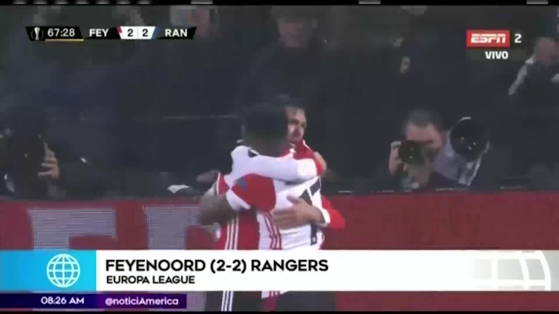 Así les fue a los peruanos en la fecha 5 de la Europa League
