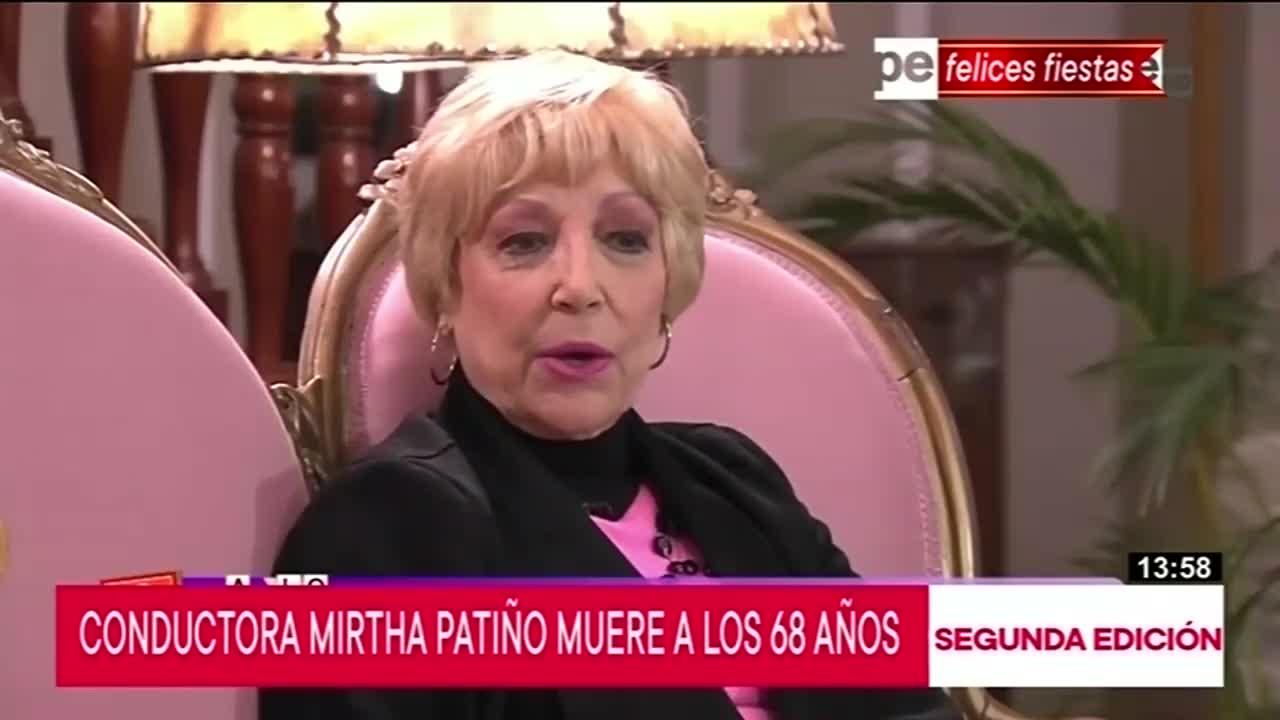 Recordada animadora infantil, Mirtha Patiño, falleció a los 68 años