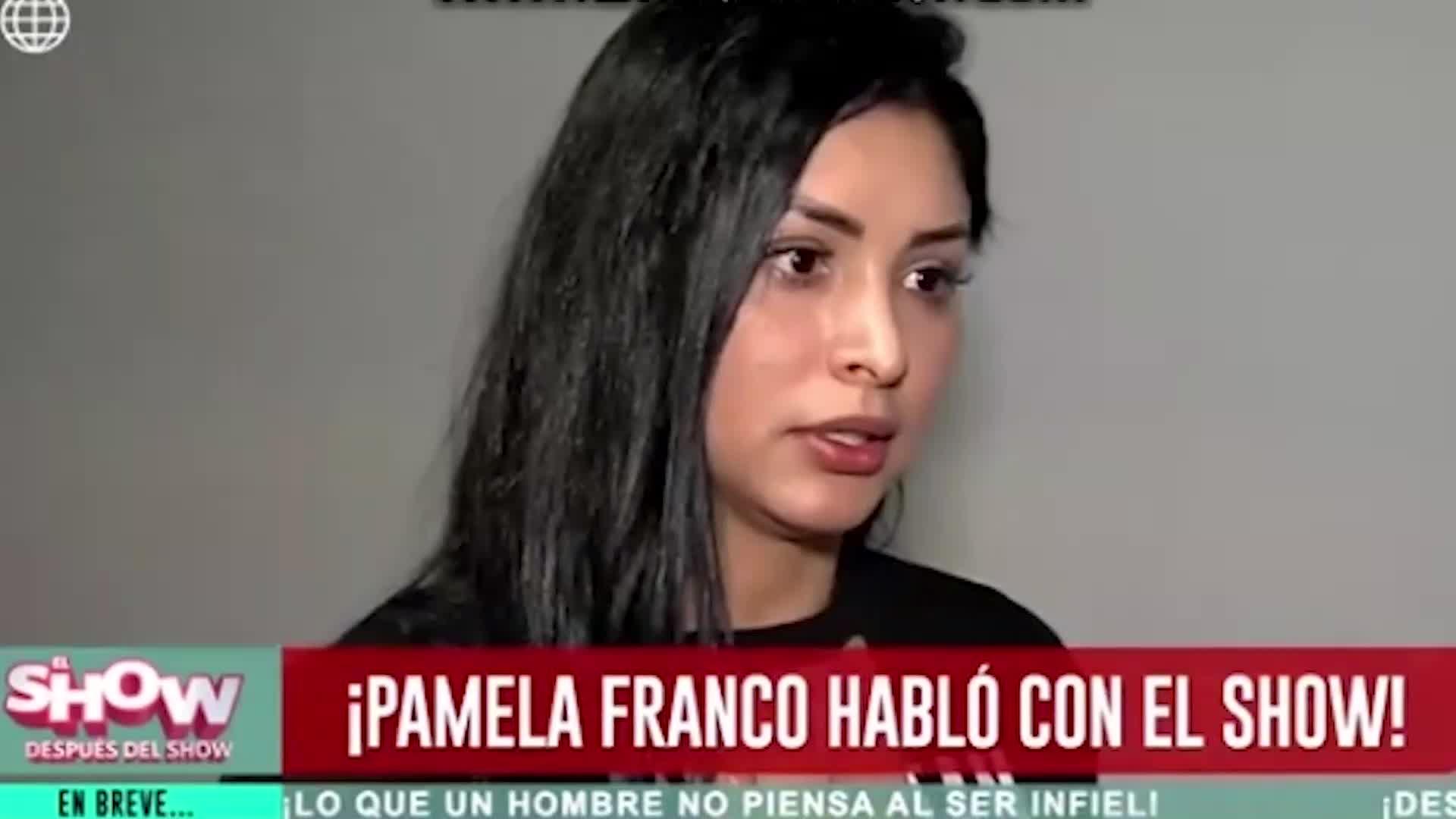 ESDS: Pamela Franco arremete contra Isabel Acevedo por propiedades de Christian Domínguez