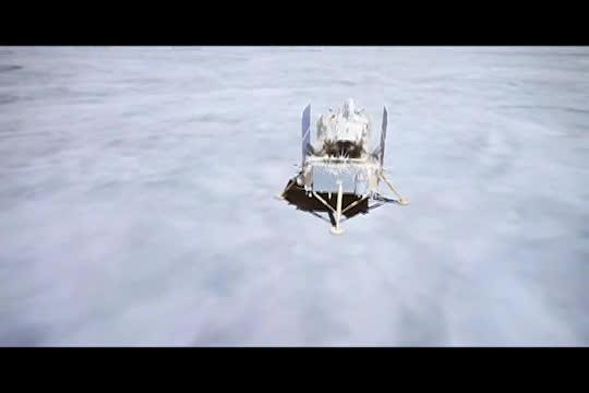 Nave espacial Chang'e-5 de China aterriza en la Luna para recoger muestras