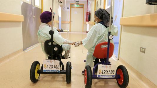 Quimioterapia sobre ruedas: el novedoso método con el que se atiende a los pacientes del INSN-San Borja