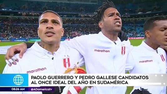 Guerrero y Gallesse entre los mejores de América