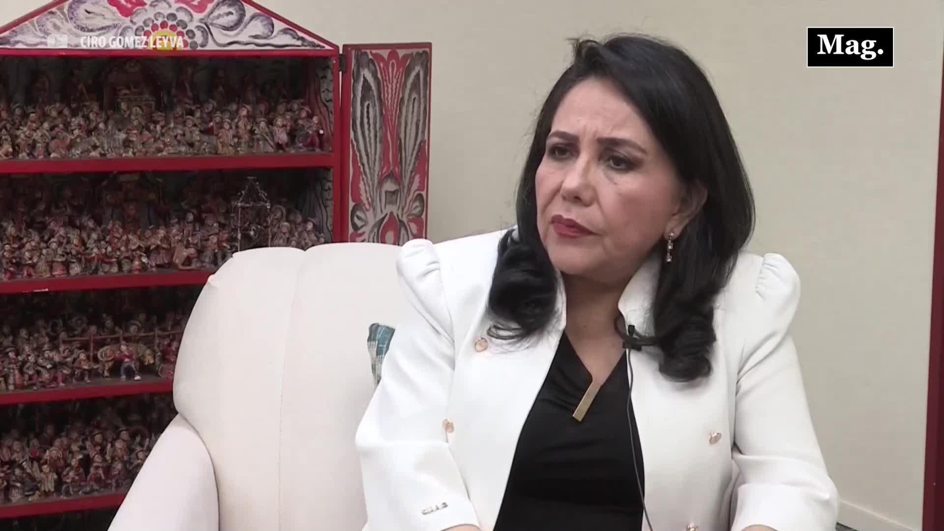 """Gloria Montenegro: """"Asumir la cultura machista es el mayor problema de las mujeres peruanas"""""""