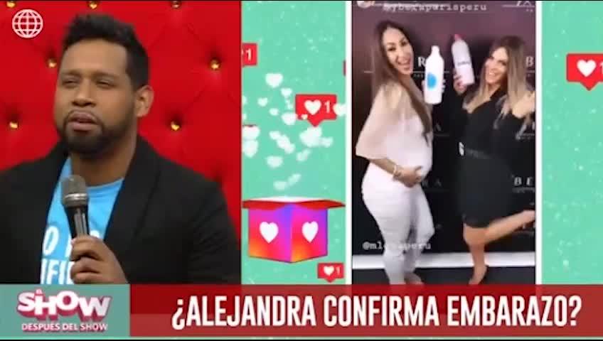 El show después del show: Alejandra Baigorria responde así a rumores sobre embarazo