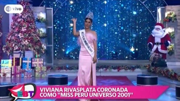 EBT: Marina Mora y Viviana Rivasplata se juntaron por los 15 años de Maju Mantilla como Miss Mundo