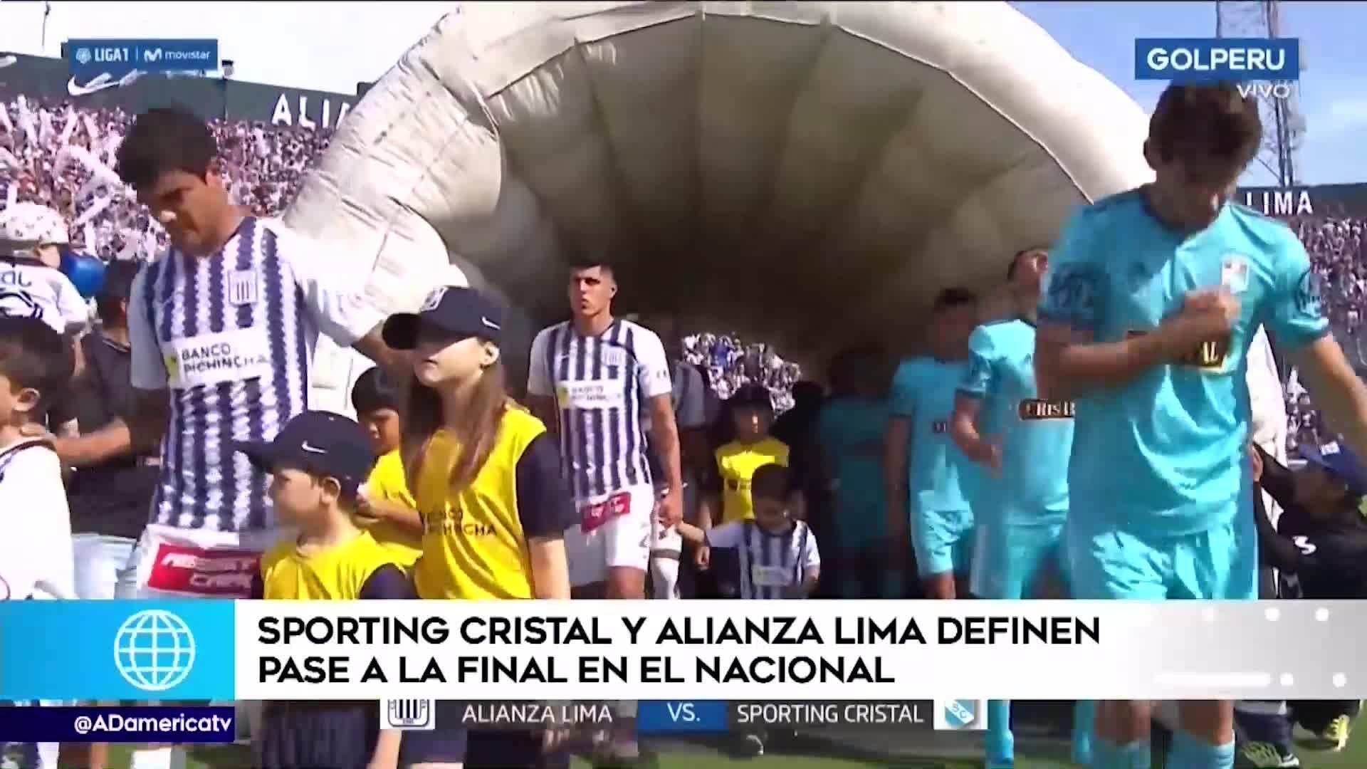 Sporting Cristal y Alianza Lima se medirán en el Estadio Nacional por el boleto a la final de la Liga 1