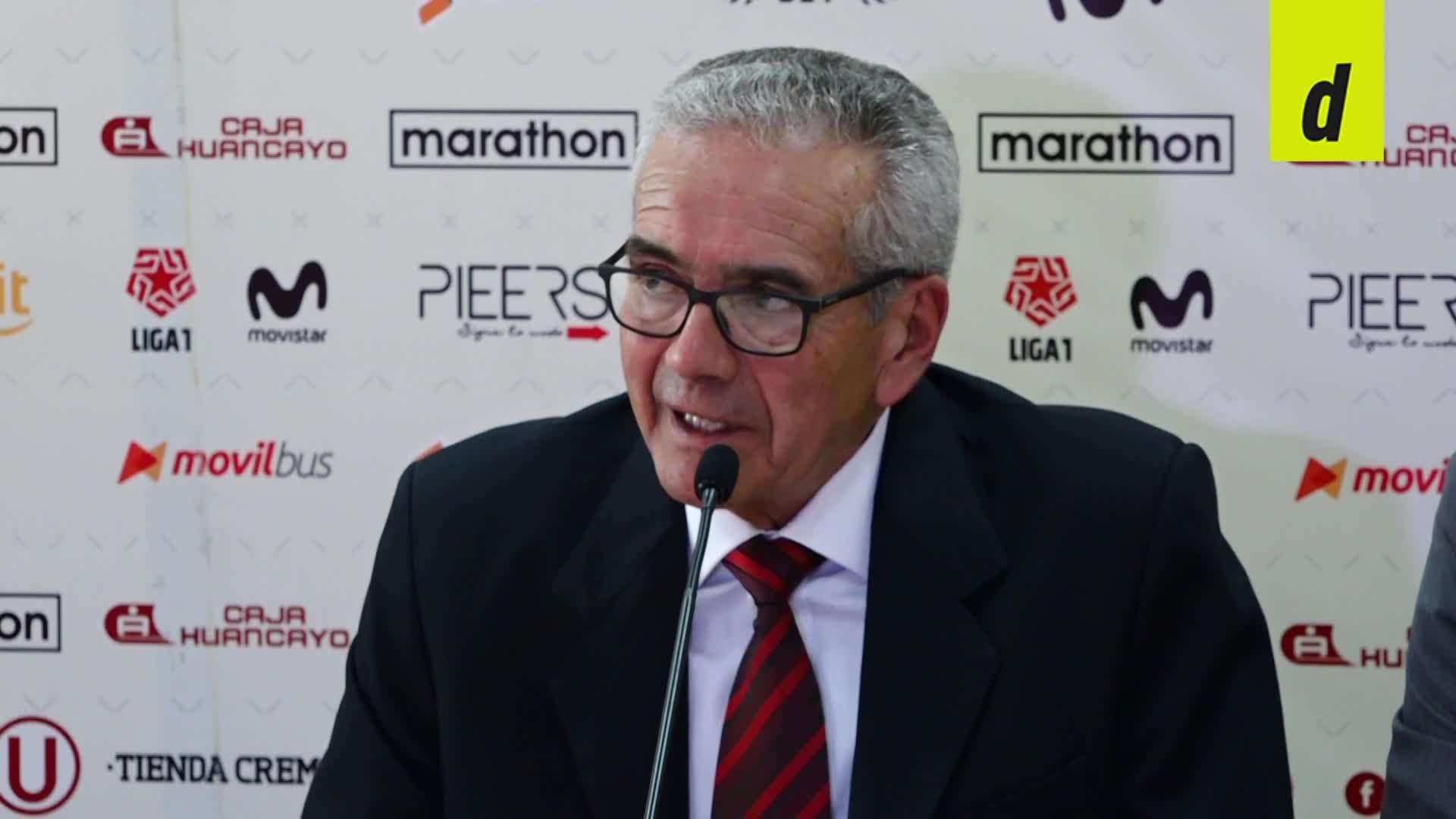 """Gregorio Pérez en su presentación oficial: """"Mi contrato es por un año, pero ojalá que sea por mucho más"""""""