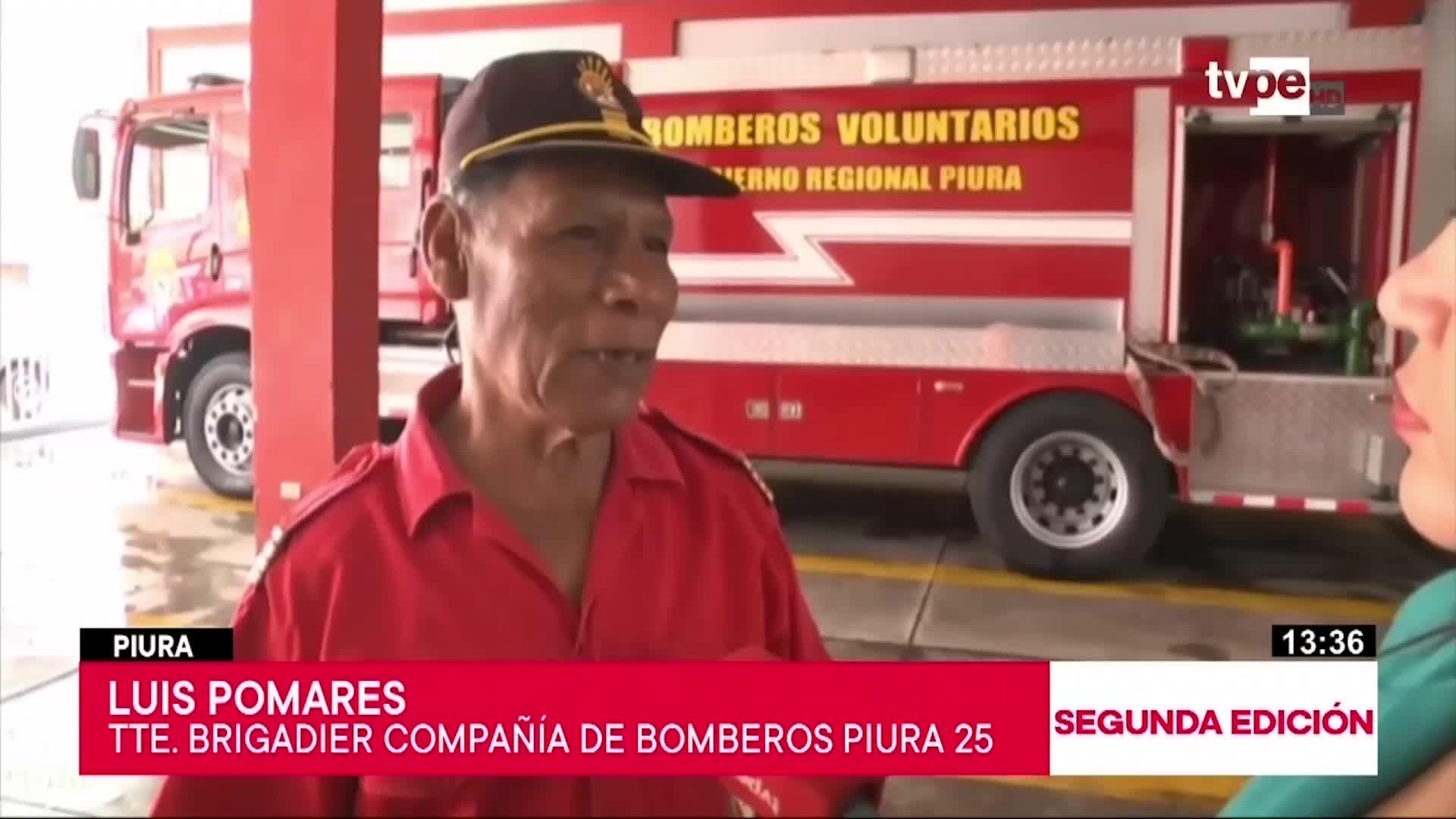 Los 'hombres de rojo' del país celebran el Día del Bombero Voluntario