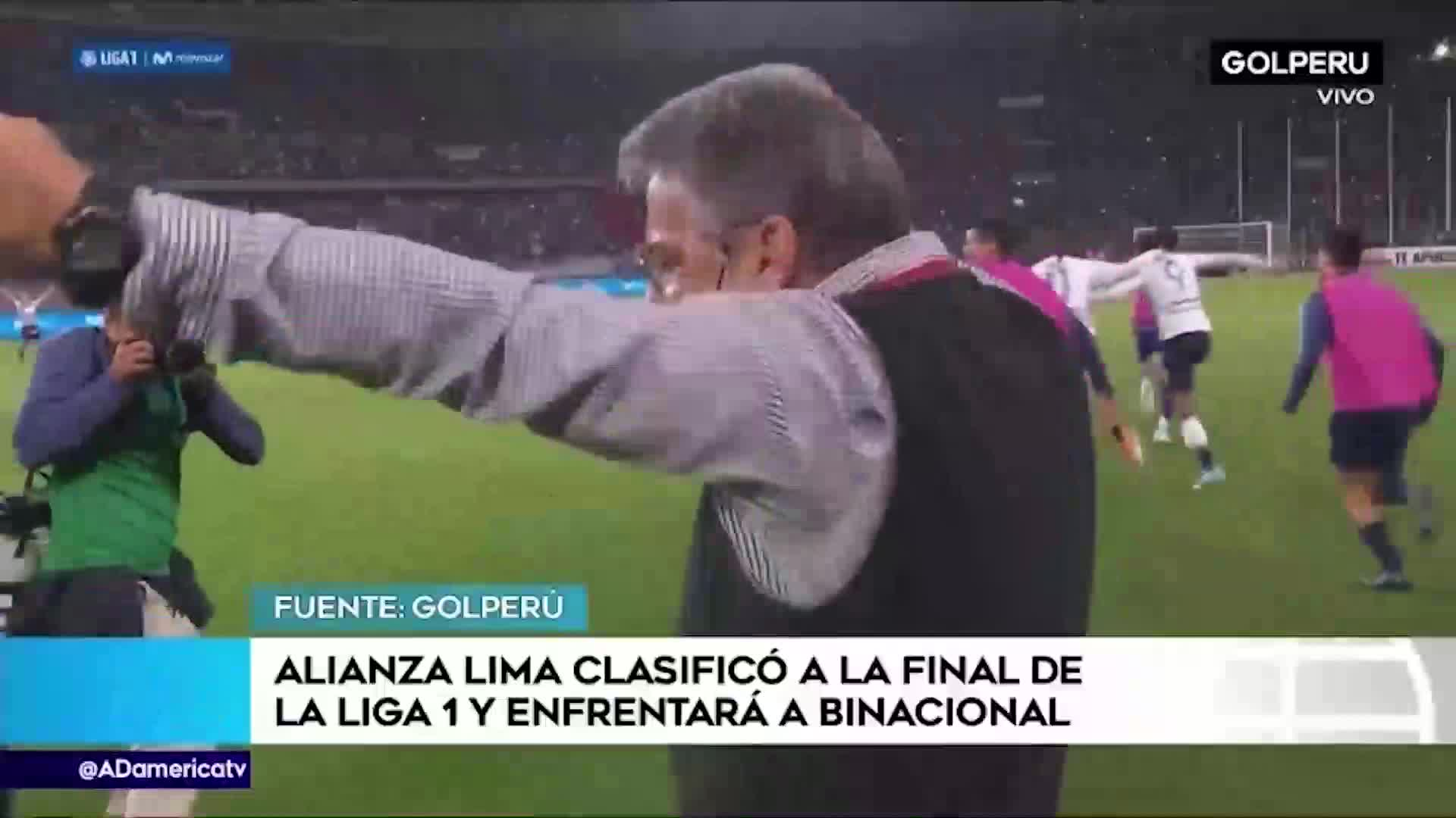 Alianza Lima pasó a la final de la Liga 1 y enfrentará a Binacional