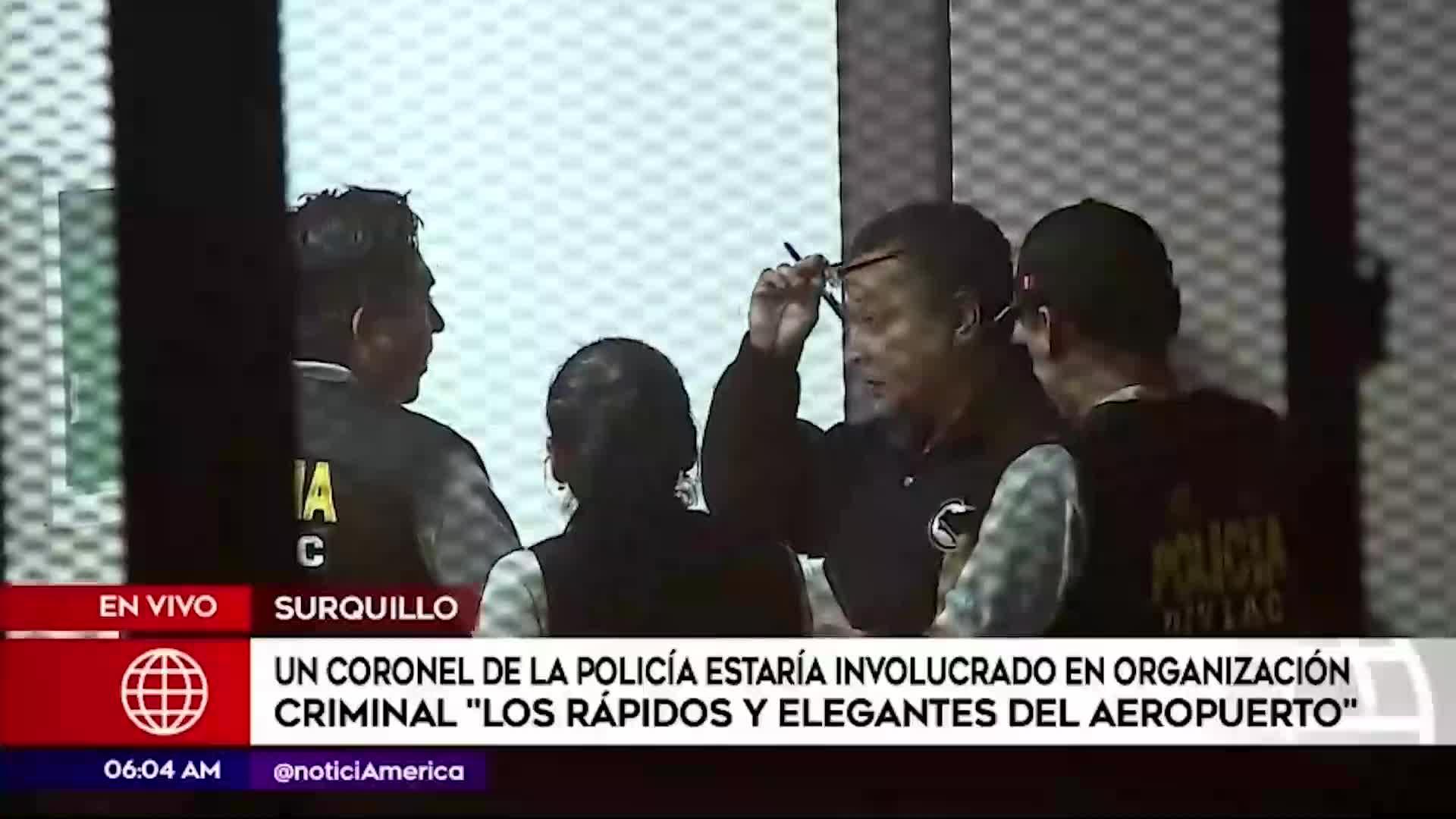 """Callao: Policía desarticuló banda criminal """"Rápidos y furiosos del aeropuerto"""""""