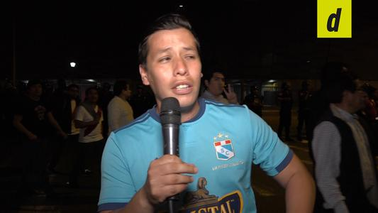 Sporting Cristal: Reacciones de hinchas después del partido. | Video