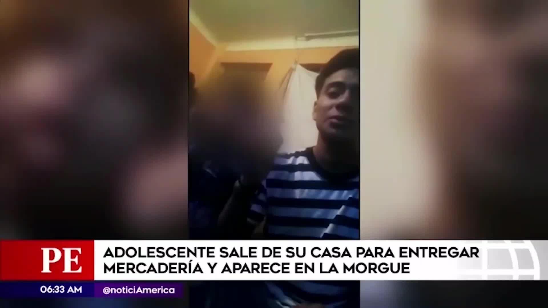SJL: menor desaparecido fue hallado sus familiares en la morgue