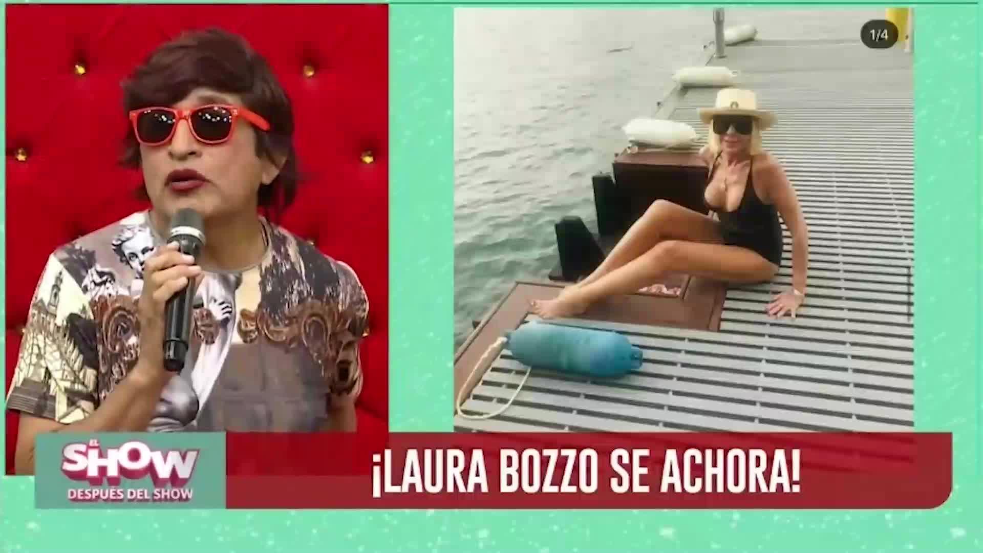 ESDS: Laura Bozzo enfureció en entrevista por críticas a su rostro