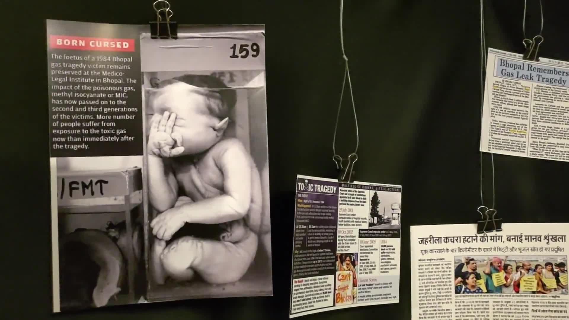 Realizan en Mumbai exposición fotográfica sobre tragedia de Bhopal de 1984