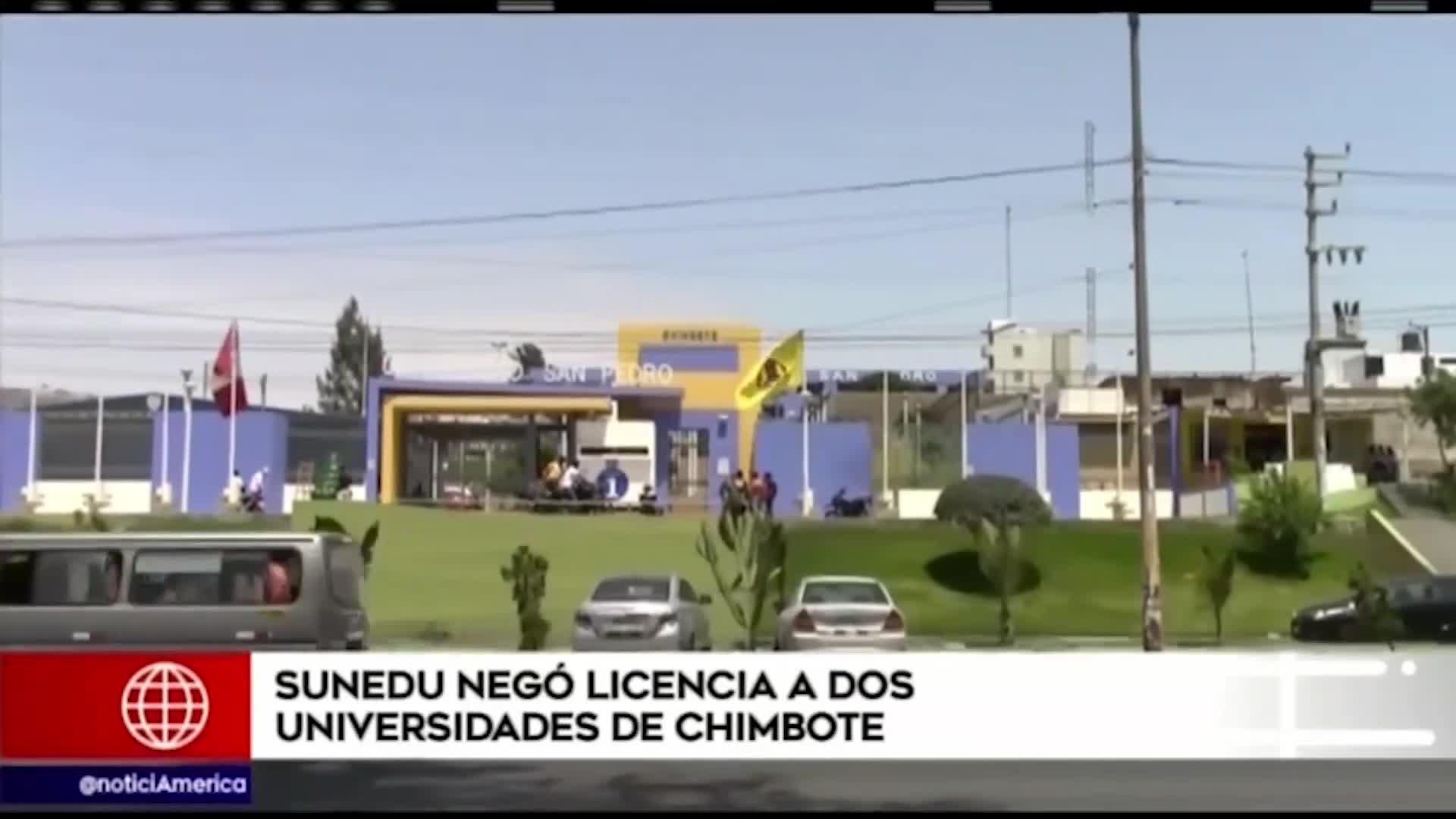 Sunedu negó licenciamiento a Universidad San Pedro y la Universidad Católica Los Ángeles