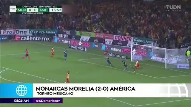 Edison Flores destaca en primera semifinal de Liga MX