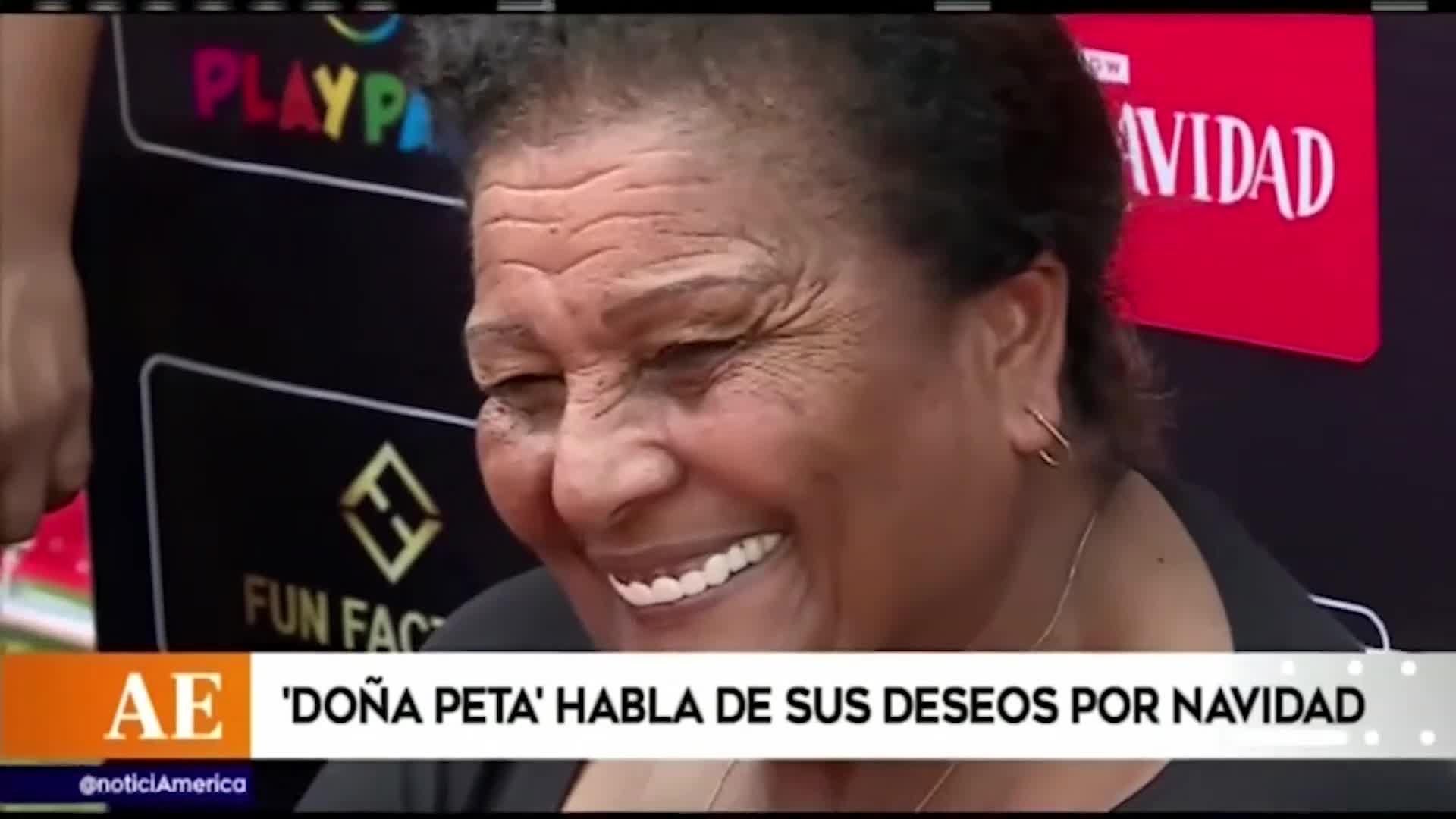 Doña Peta: espera un nieto de Paolo y Alondra