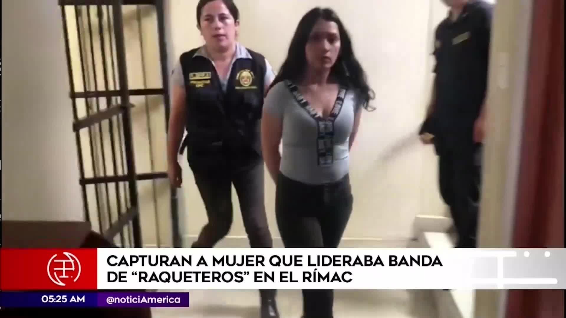 Rímac: Capturan a banda de raqueteros que robaba celulares a bordo de una mototaxi