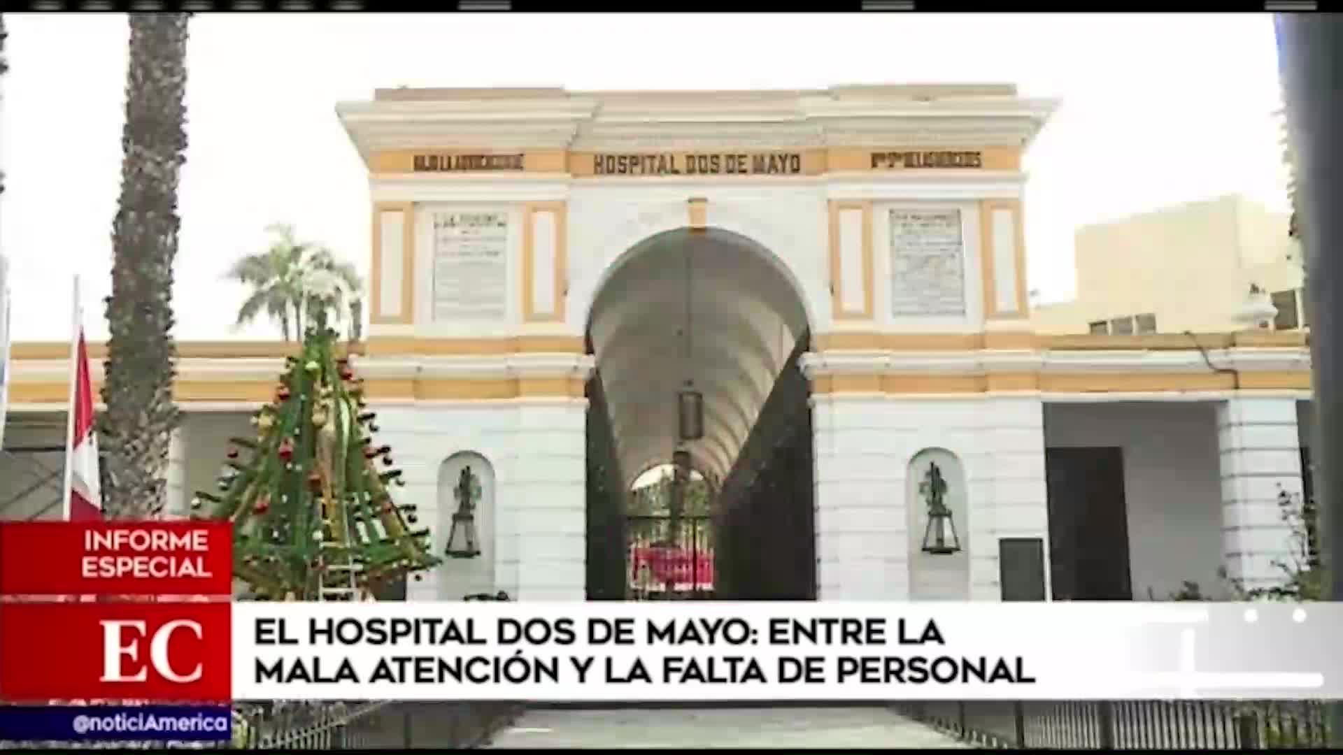Hospital Dos de Mayo: pacientes afrontan falta de personal, demora en los trámites y mala atención