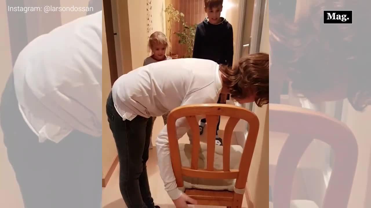 'Chair Challenge', el último reto viral que los hombres no pueden superar