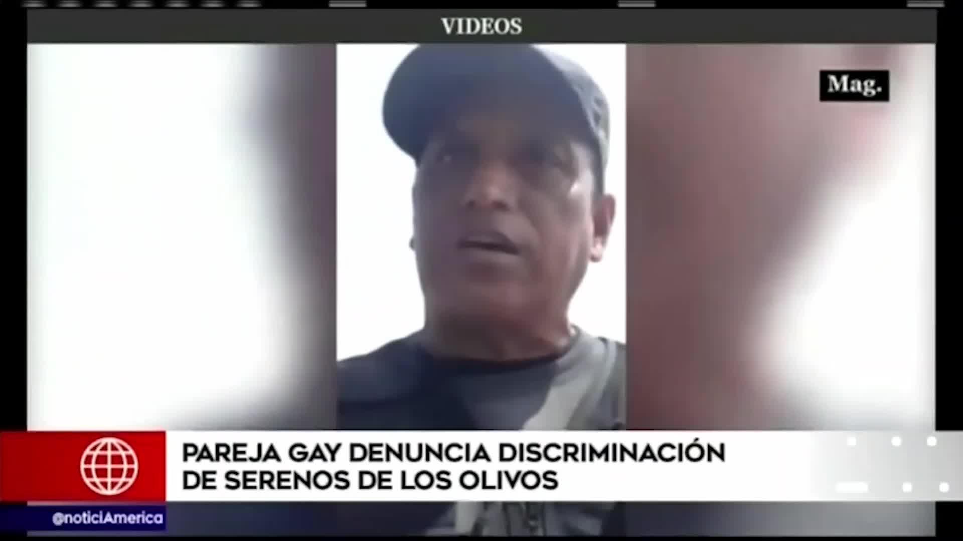Sereno de Los Olivos podría ser retirado del cargo por discriminación a pareja gay