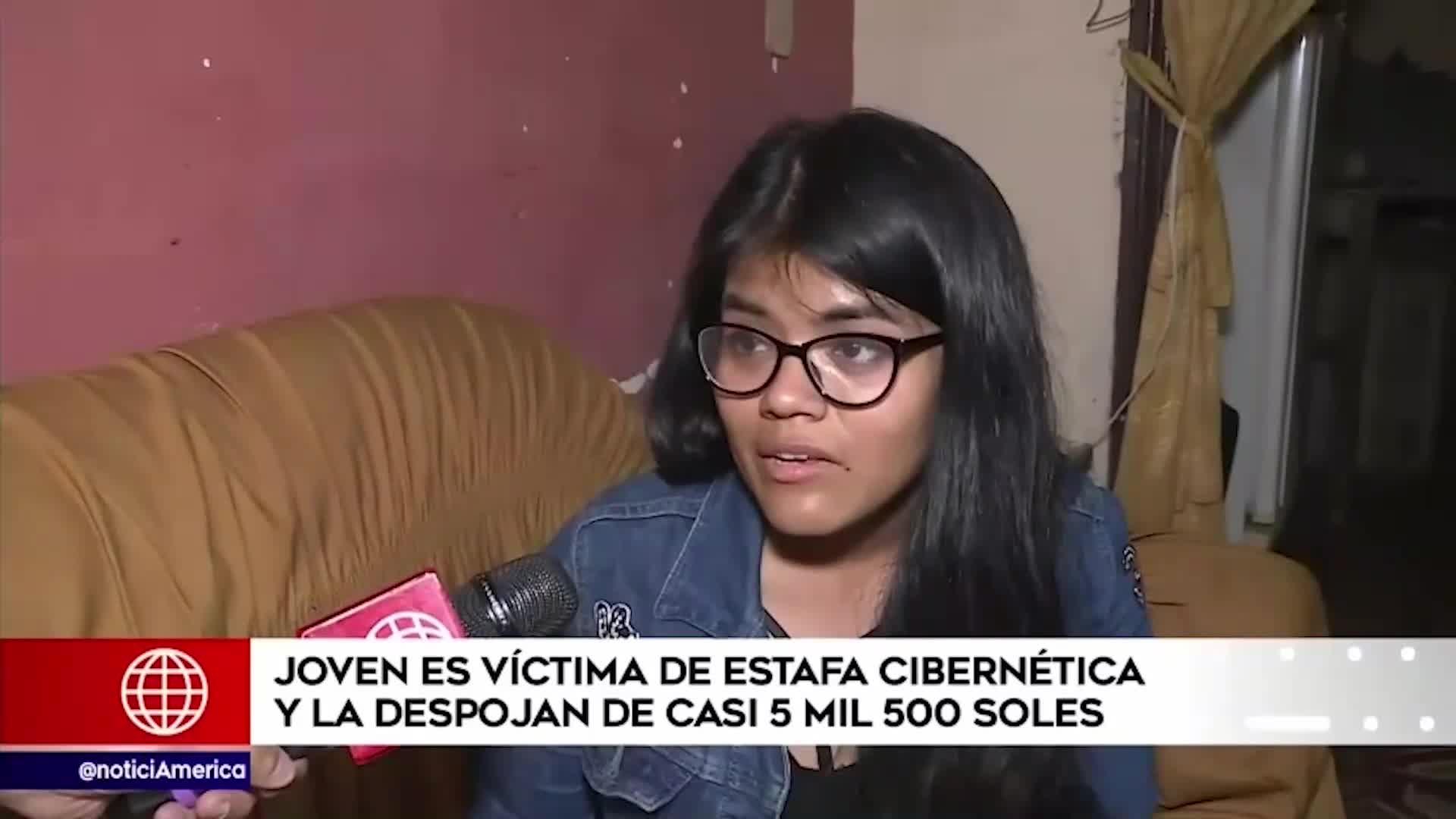Mujer fue víctima de delincuentes cibernéticos y le robaron más de 5 mil soles