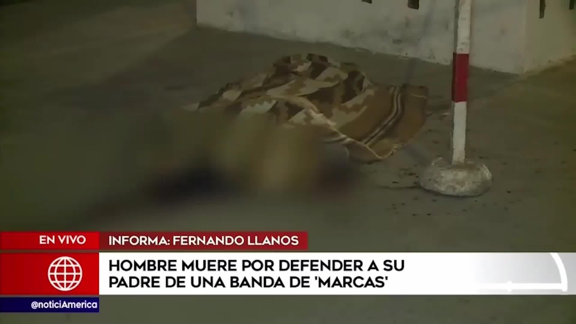 VES: hombre muere por defender a su padre de delincuentes