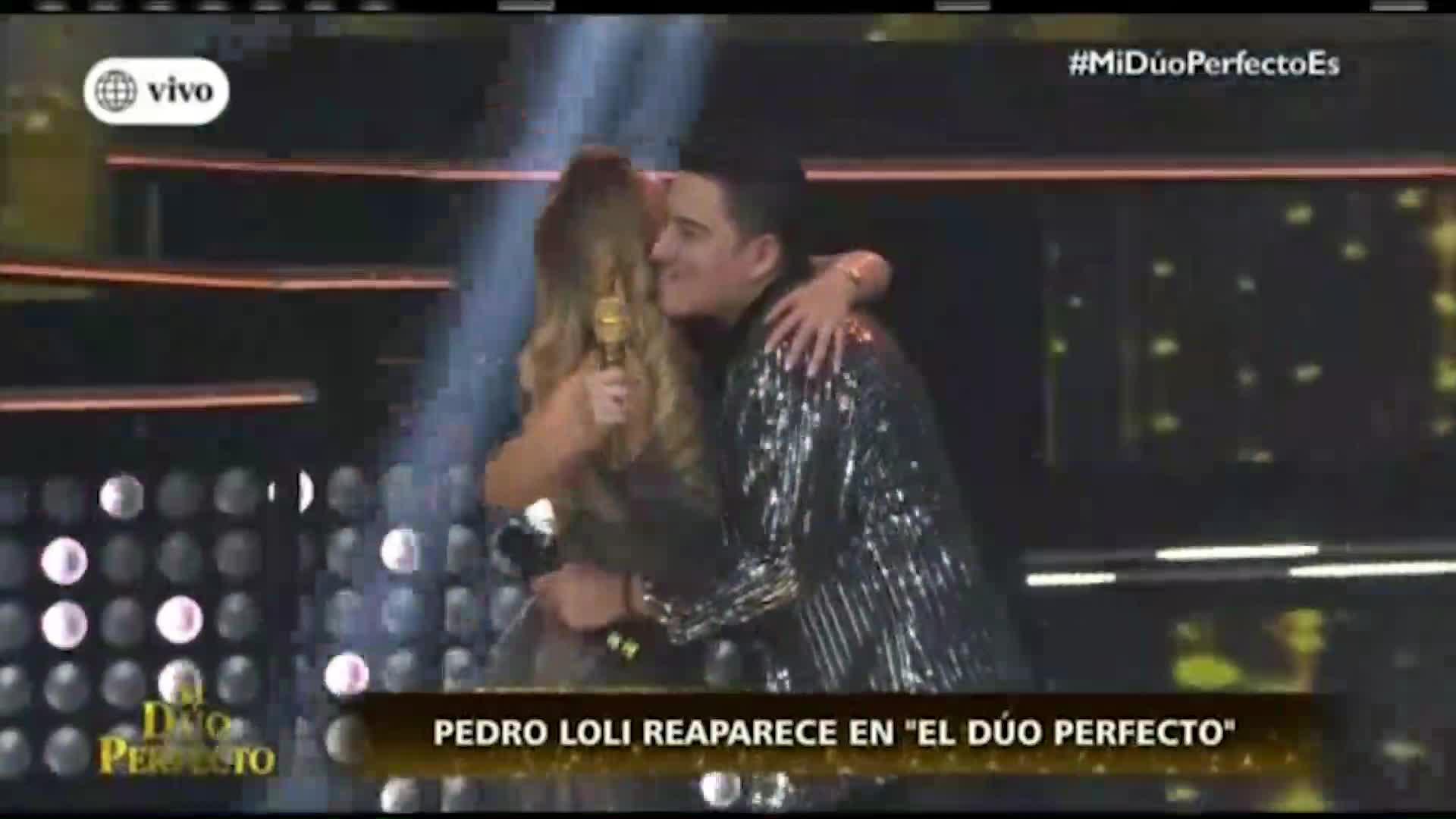 """""""El dúo perfecto"""": Pedro Loli reaparece en el programa de Gisela tras escándalo de infidelidad"""