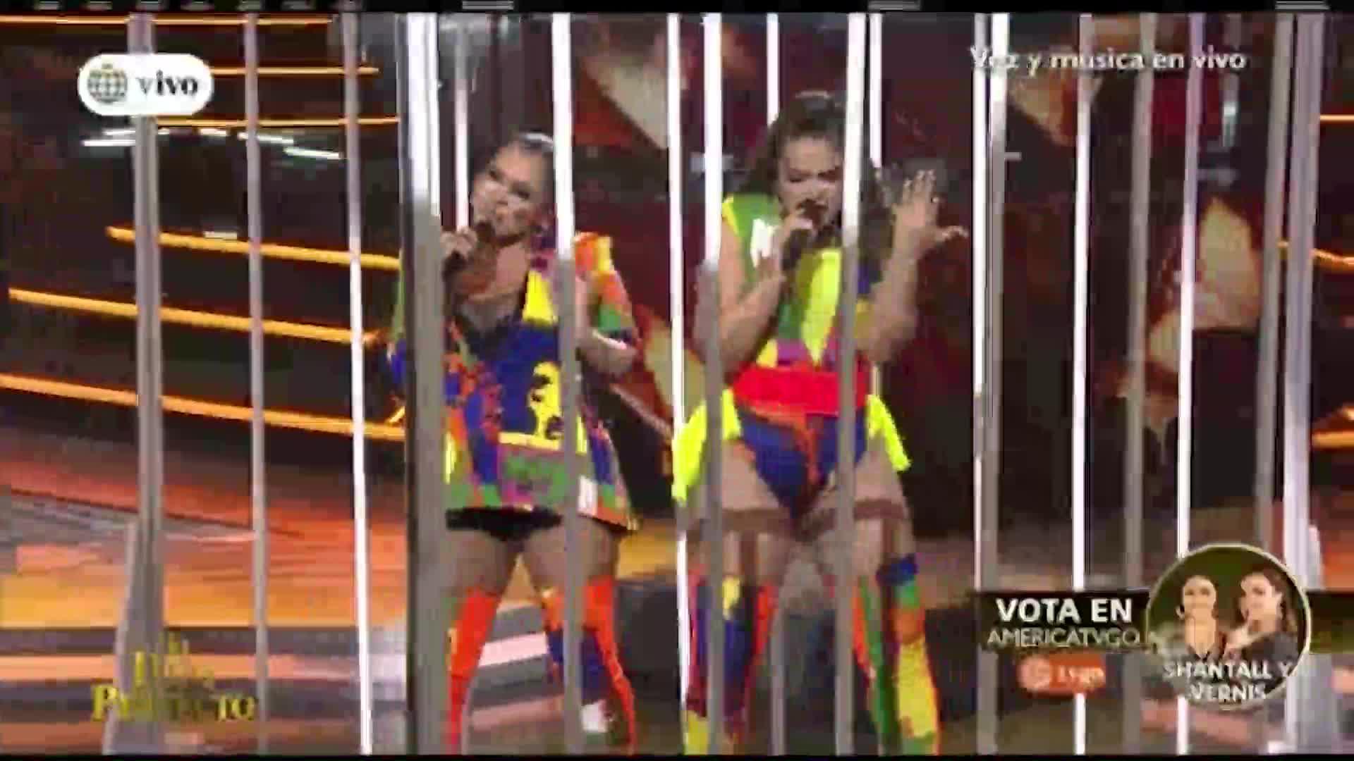 """""""El dúo perfecto"""": Vernis Hernandez y Shantall impresionaron con interpretación de Shakira"""
