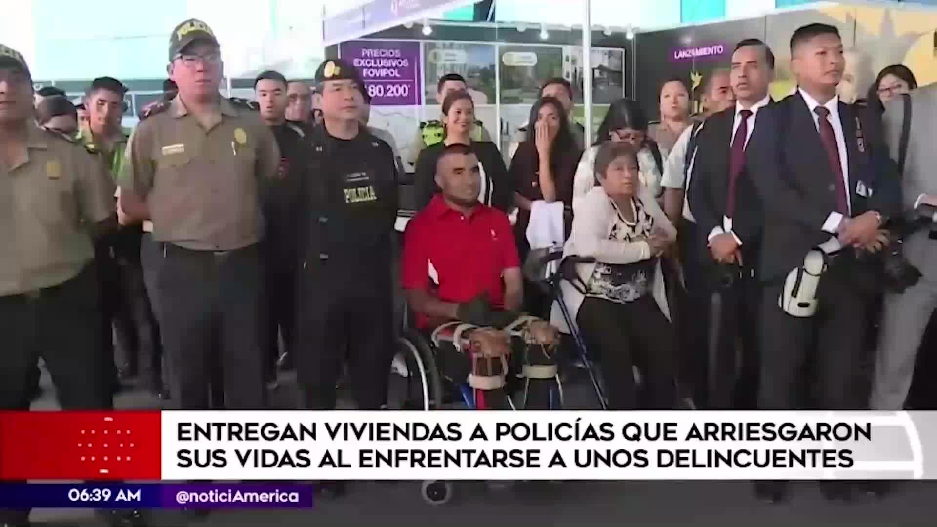 Ministerio del Interior entregó vivienda a policía medallista de los Juegos Parapanamericanos 2019