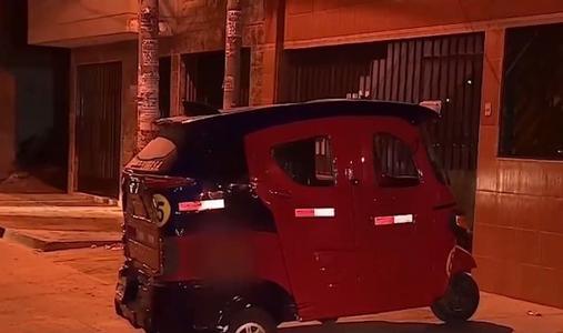 Delincuentes asesinan a mototaxista tras resistirse al robo de su vehículo
