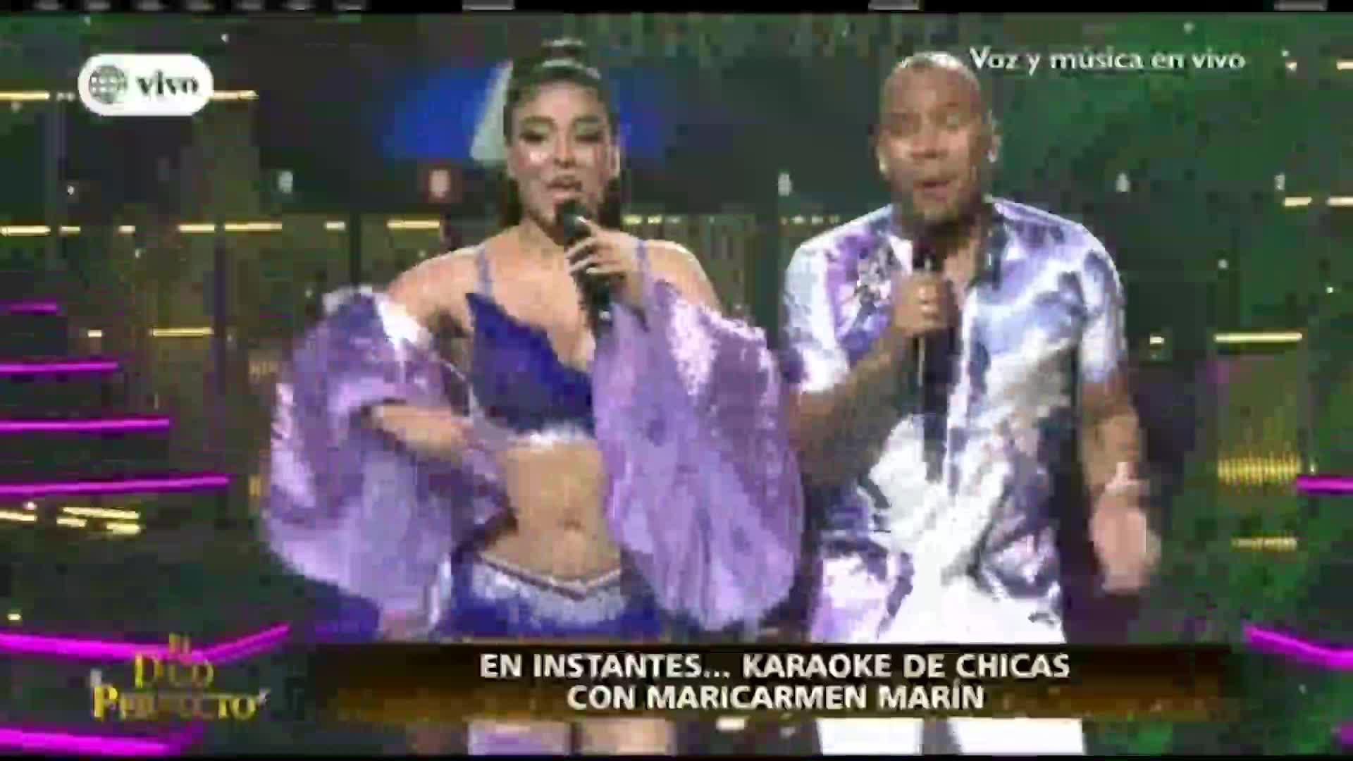 """""""El dúo perfecto"""": Cielo Torres y Michel Robles debutaron al ritmo de cumbia"""