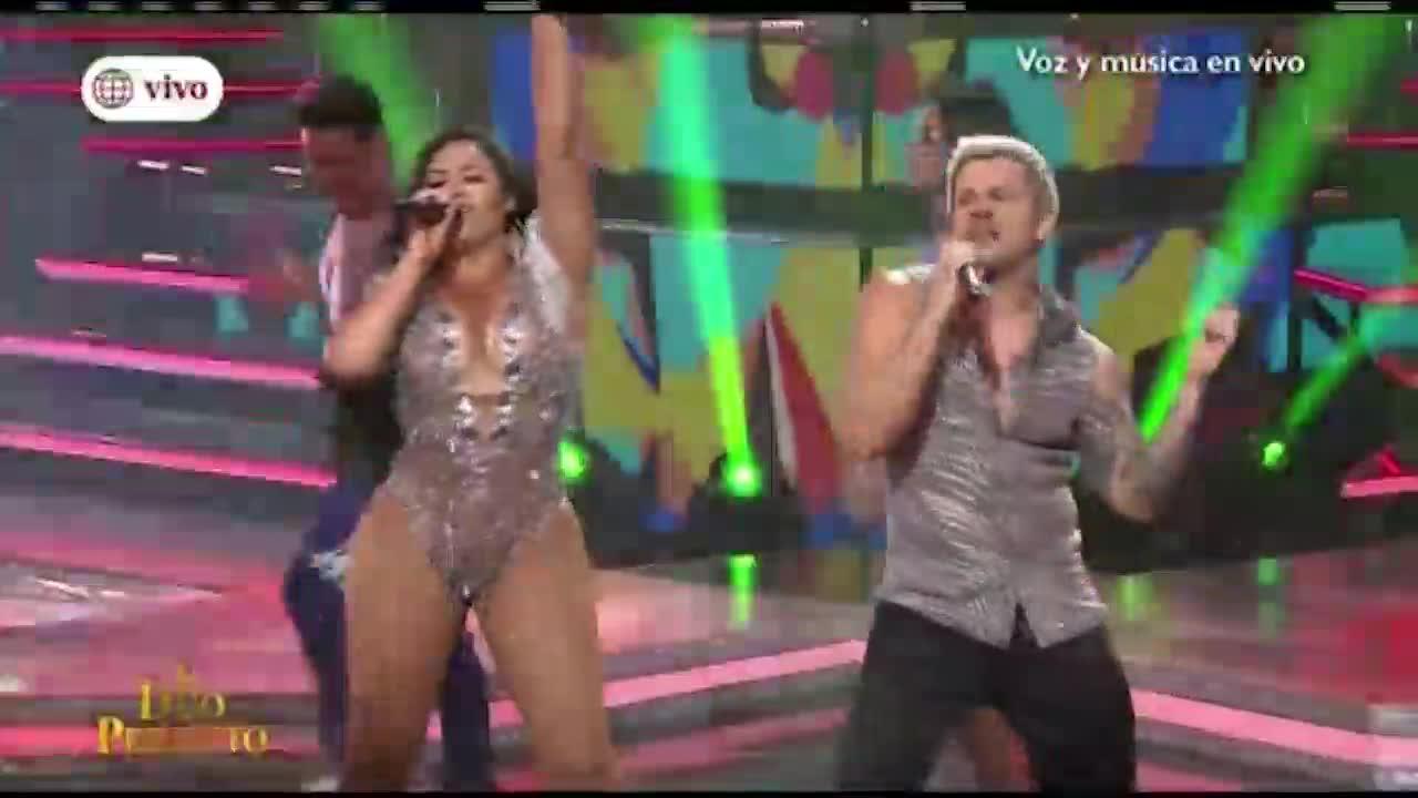 """""""El dúo perfecto"""": Mario Hart y Michelle Soifer brillaron en el escenario"""