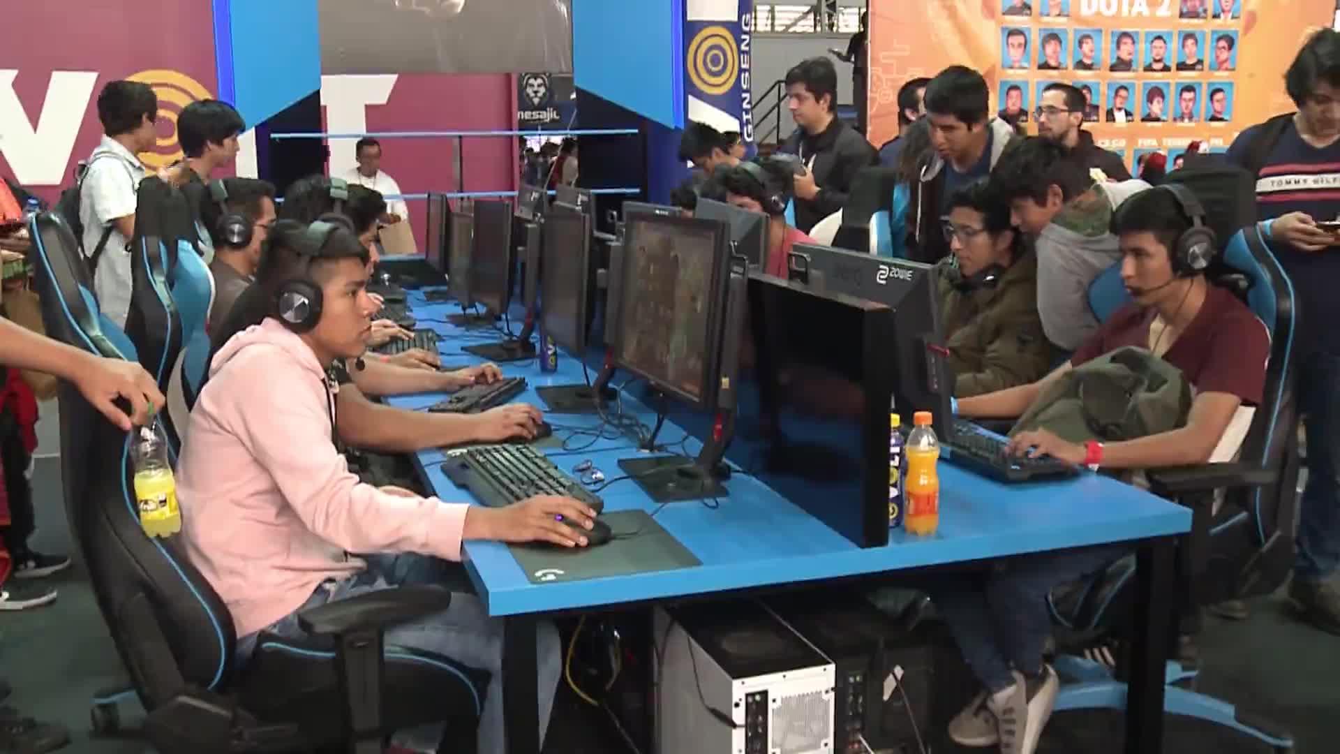 Gamers viven fabulosa experiencia en el Festival Lima GamesWeek
