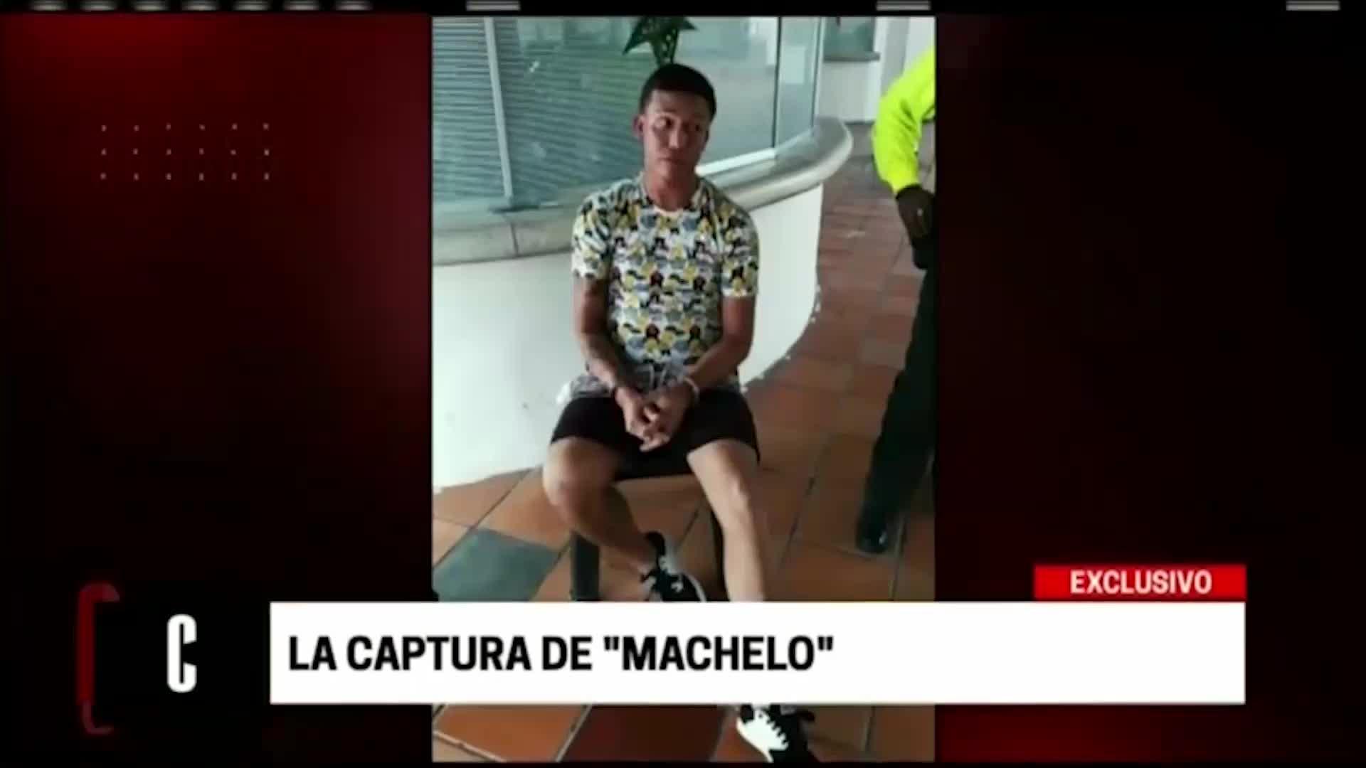 """""""Machelo"""" descuartizador de SMP fue capturado en Colombia"""