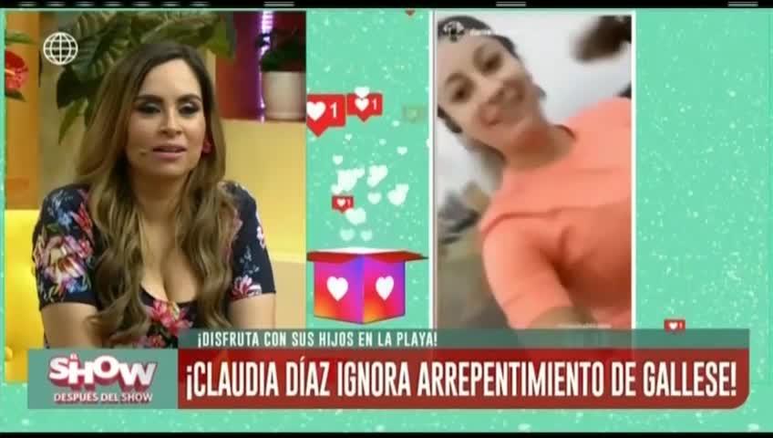 ESDS: Claudia Díaz muestra su lado deportista tras disculpas de Pedro Gallese